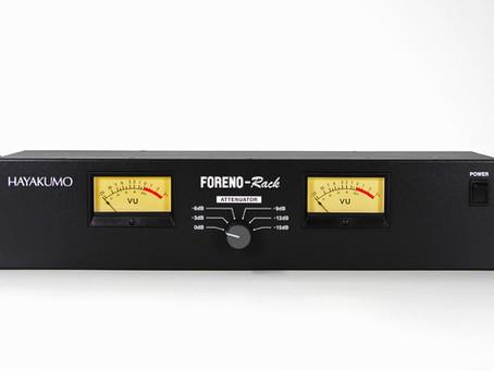 FORENO-Rackの発売日が決定しました。