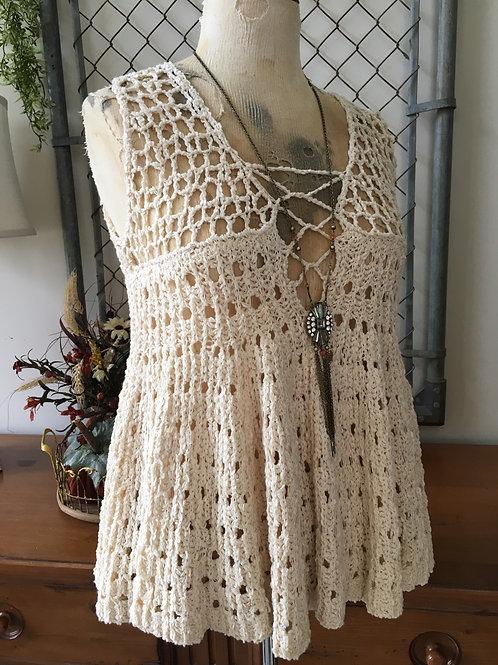 Chelsea & Violet Crocheted Tank