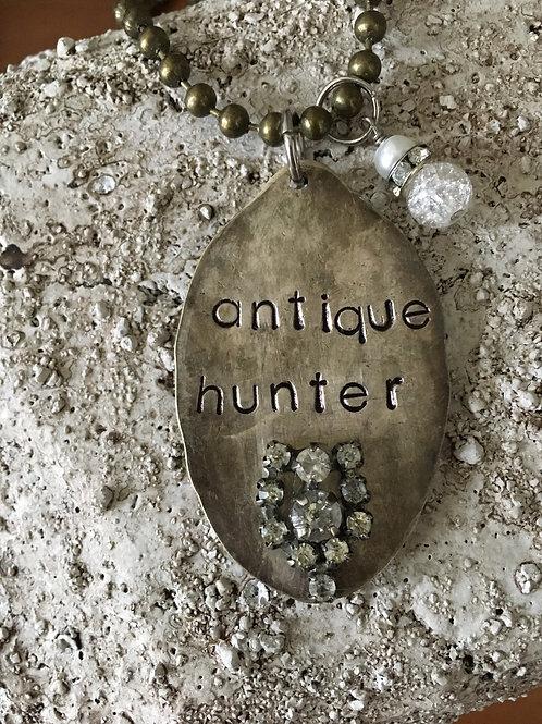 """Antique Hunter"" Vintage Spoon Necklace"