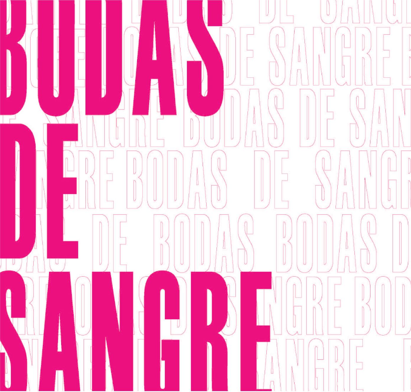 BODAS DE SANGRE