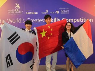 Concours Worldskills, La France médaille d'argent en art floral!