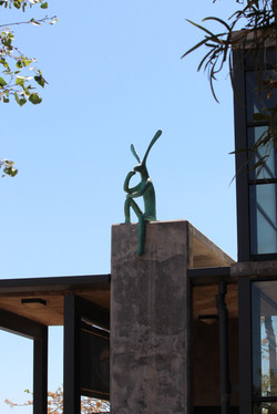 Perched-hare,2014.....Guy-d