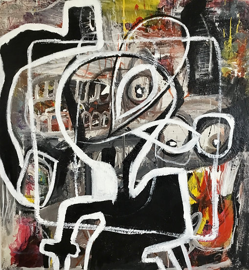 Maico Camilo, Lost within my Own Self 3, 2020. R90 000.00 Vat incl.