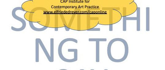 4.5 CAP Module in Writing About Art - R500.00