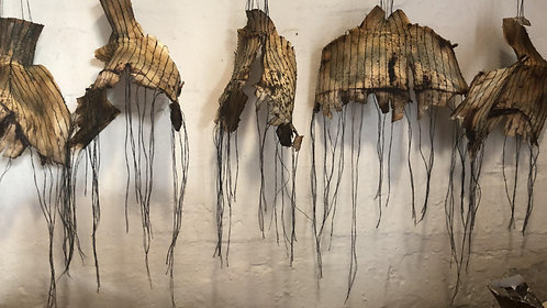 Rosa SnymanWessels, Inner-outer world, 2020. R5000-00 for set of 19.