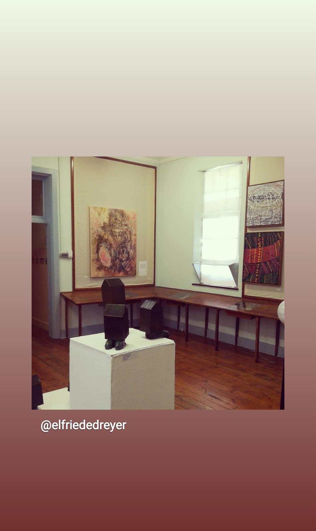 Installation view, Elfriede Dreyer, Loeritha Saayman, Elsa van der Klashorst