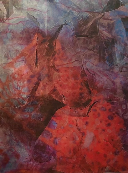 Rosa Snyman-Wessels, Colliding (2020).  R6000.00
