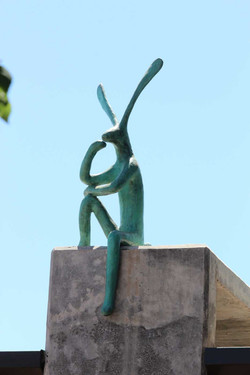Perched-hare,2014......Guy-