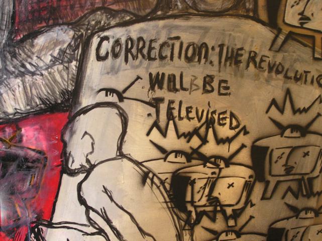 Kudzanai Chiurai The Revolution will be televised(2003) detail