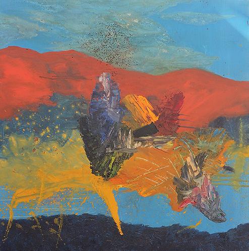 Pascual Tarazona, Montana Rosa I, 2016. R7000.00