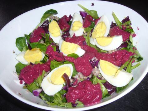 Salade complète au sarrasin