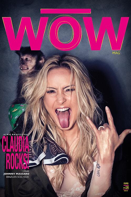 CLAUDIA ROCKS! BRAZILIAN issue - capa1