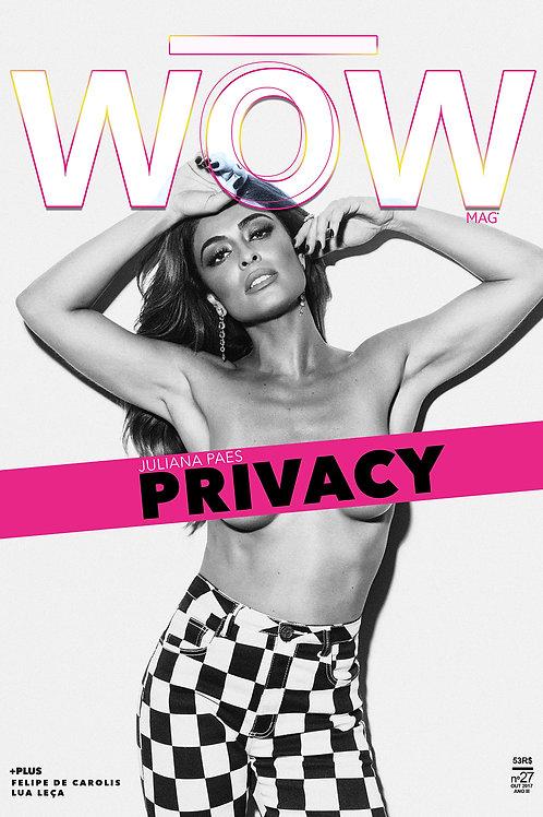 JULIANA PAES - PRIVACY capa 2
