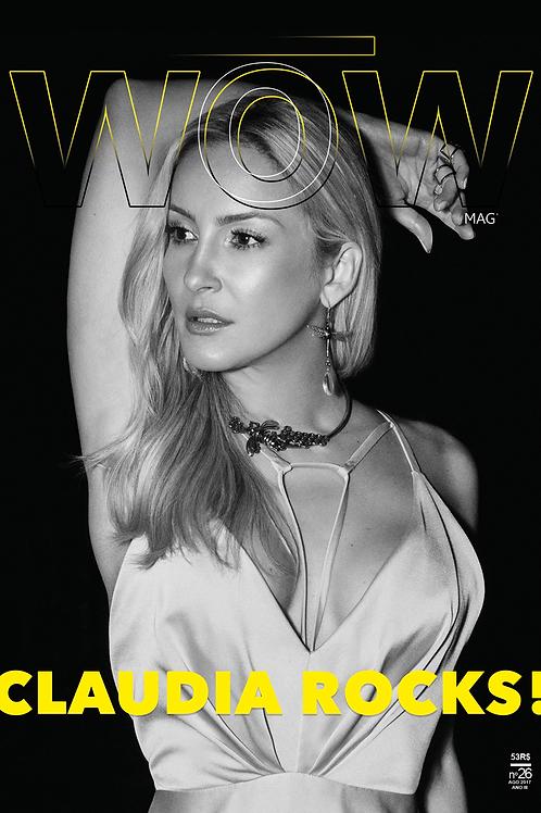 CLAUDIA ROCKS! BRAZILIAN issue - capa2