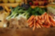 Fresche verdure biologiche