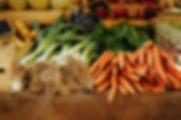 Légumes frais biologiques