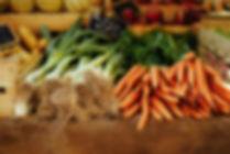 Frisches Bio-Gemüse