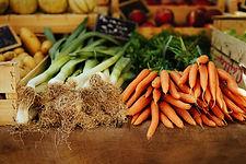新鮮なオーガニック野菜