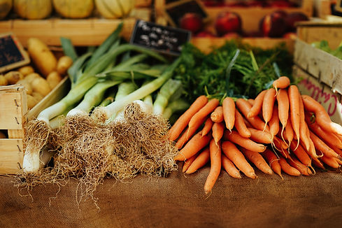 Vegetais orgânicos frescos
