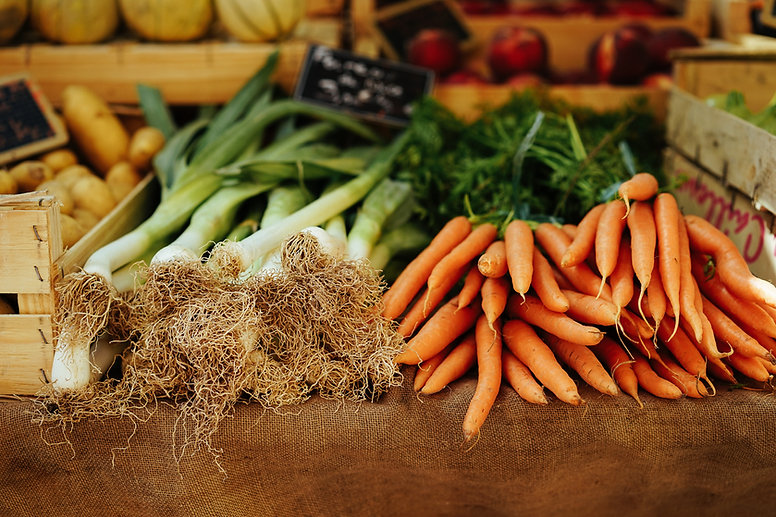 新鮮的有機蔬菜