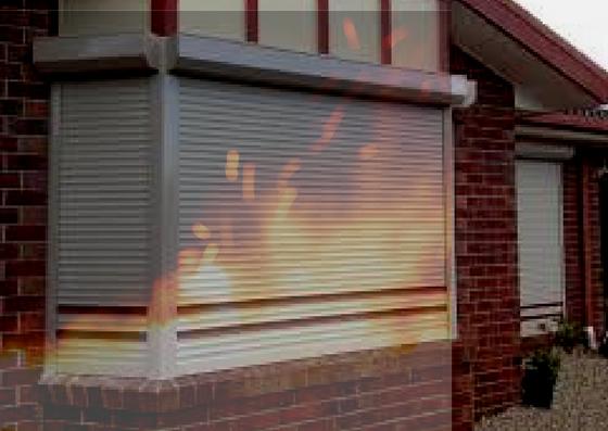 roller shutter fire hazard