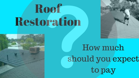 How much does a roof restoration cost? blog post