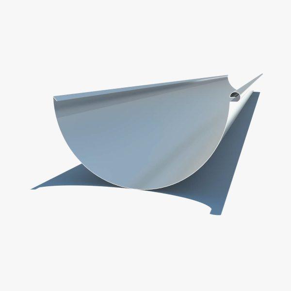 Half round gutter profile