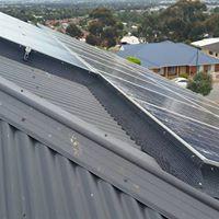 Gutter Guard for Solar Panels