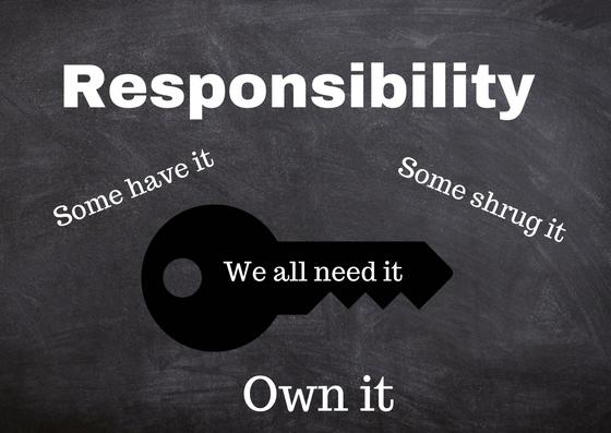Sales responsibility