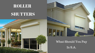How Much Are Roller Shutters, In Adelaide?