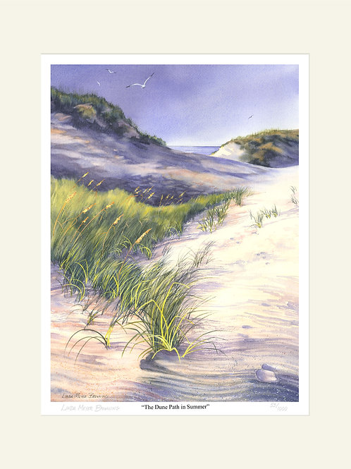 The Dune Path in Summer, 20x16