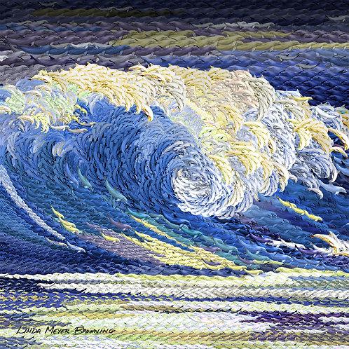 Royal Wave, 16x16