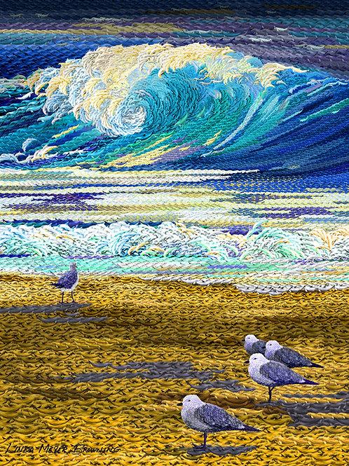 Ode to Poseidon, 24x18