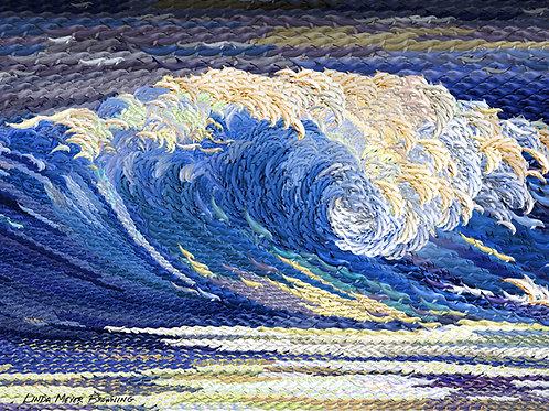 Royal Wave, 18x24
