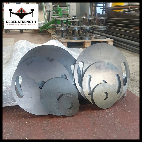 Calibrated Weight Plates 2""