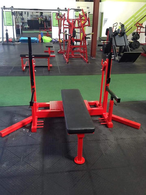 Rebel Strength Powerlifting Fixed Bench
