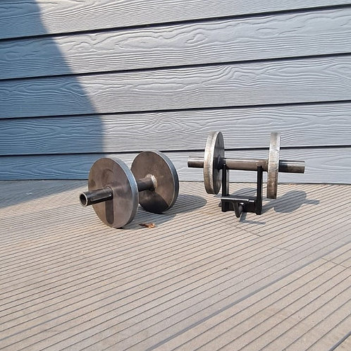 Adjustable Weight Dumbbell Handles 1 1/4