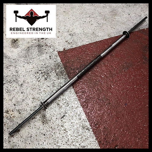 "Rebel Strength 1"" End RAW 6ft Solid Axle Bar"