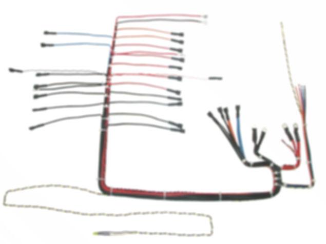 Kabelbaum Fertigung für elektroniche