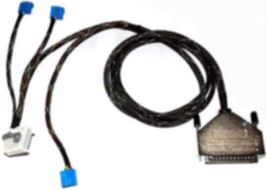 Konfektionierte komplexe Spezialkabel und Datenkabel für industrielle Anwendungen. Kabelkonfektionierung nach Zeichnung und Musterkabel.