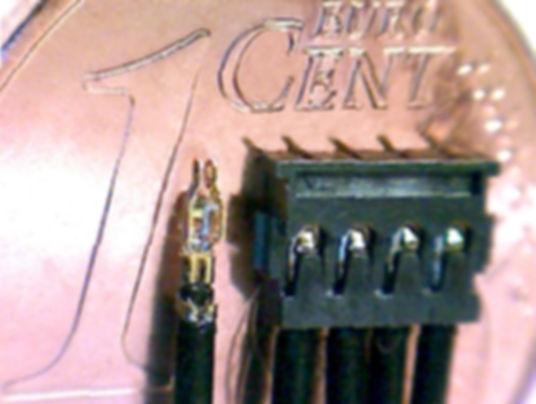 Konfektionierte Miniatur Spezialkabel für industrielle Anwendungen. Kabelkonfektion nach Zeichnung und Musterkabel.