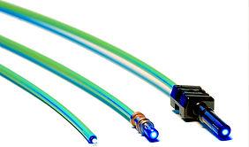 Lichwellenleiterkabel oder LWL konfektionieren wir nch Vorgabe, Zeichnung oder Muster. Zuschnitt und Konfektionierung aller LWL Kabel und Steckverbinder.