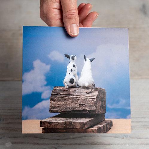 Greeting Card - What Lies Ahead?