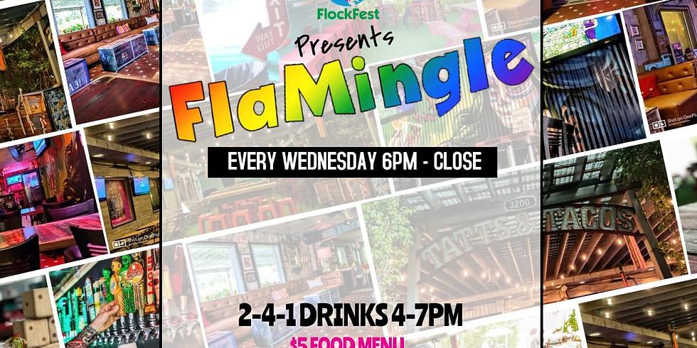 Flamingle Wednesday - Tatts & Tacos