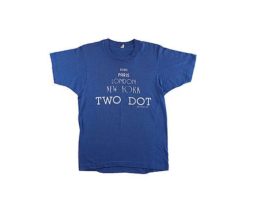 TWO DOT TEE