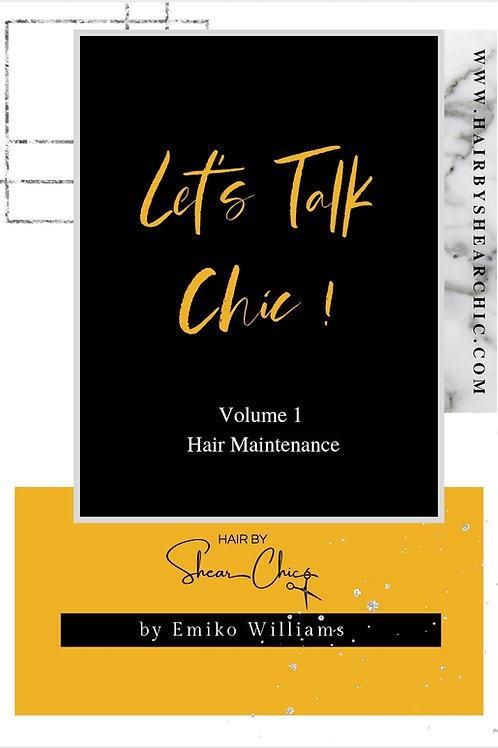 Let's Talk Chic Vol. 1 E-book