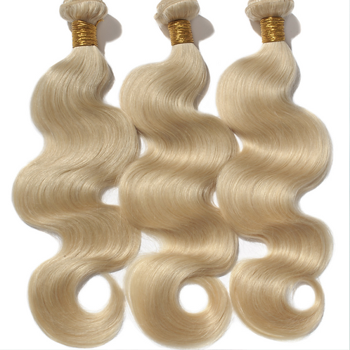 613 Blonde Body Wave Extensions