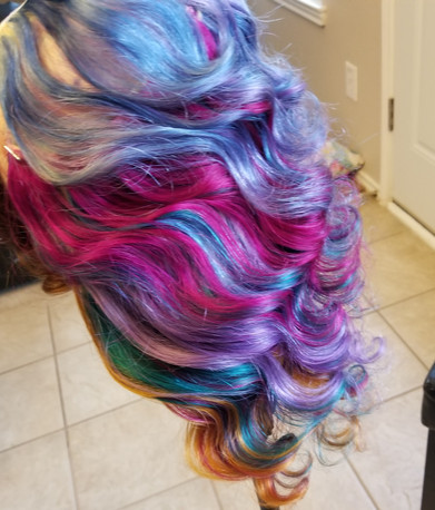 Custom Color using Shear Chic Extensions