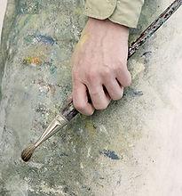 Symbolisation de l'art thérapie par un peintre