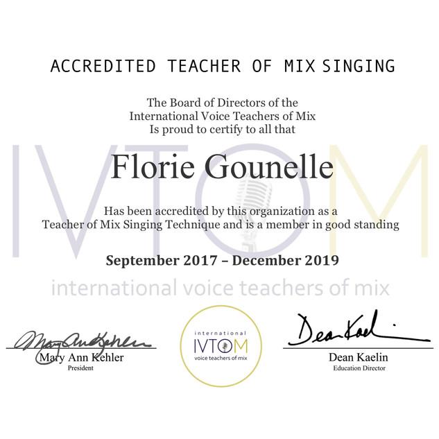 Ivtom certification 2019